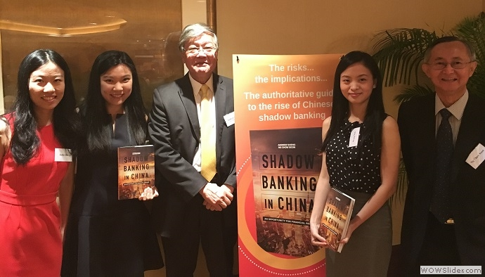 SHADOW BANKING IN CHINA BOOK LAUNCH