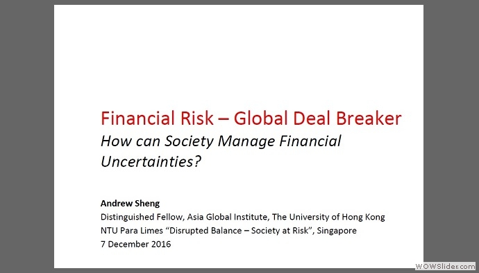 Financial Risk �C Global Deal Breaker